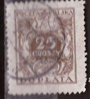 PIA - POLONIA - 1924 : Francobollo Do Servizio  - (Yv  72) - Officials