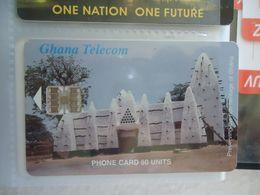 GHANA USED CARDS  MONUMENTS - Ghana