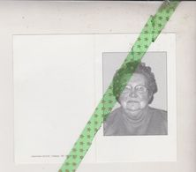 Eva Derobertmasure-Mangelinck, Flobecq 1923, 2003 - Décès