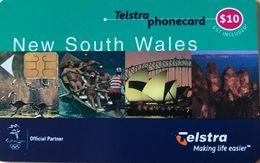 AUSTRALIE  -  Phonecard  -  Telstra  -  New South Wales  -  $ 10 - Australië