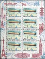 USSR 1991. Michel #6220 MNH/Luxe. Klb. Transport. Aviation. LZ 127 Graf Zeppelin (Ts27) - Zeppelin