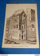 LIEGE  -  Le Vieux Liège  - Rue Des Tourneurs En 1876 - Luik