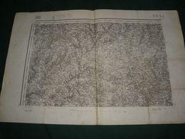 CARTE D ETAT MAJOR :  TULLE - Topographical Maps