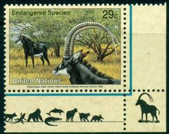 UN NY 1993 Fauna Animals Mammals Antilopes MNH - Sellos