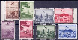 KINGDOM JUGOSLAVIA -  AIRMAIL  SET  Perf. 12½  - **MNH - 1937 - Poste Aérienne