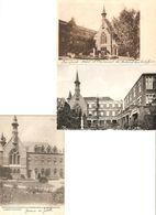 Borsbeek : Instituut St-Jozef / Kostschool Der Zusters Van Het Arme Kind Jezus / Kapel En Klooster ---- 3 Kaarten - Borsbeek