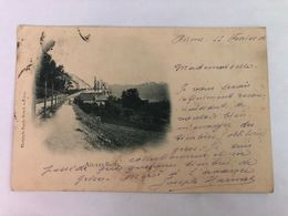 France -  Savoie - Aix Les Bains -  POSTED  1902 - POSTCARD - Aix Les Bains