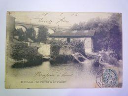 2020 - 6435  BELLAC  (Haute-Vienne)  :  Le Vincou Et Le VIADUC  1906   XXX - Bellac
