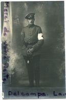 - Carte Photo - Sous Officier Allemand, Brassard Croix Rouge, Infirmier ?, TBE, Scans. - Personaggi