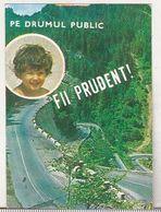 Romanian Small Calendar - 1983 ADAS Insurance Company And Militia Constanta - Petit Format : 1981-90