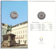 Austria - 5 Euro 2006 UNC Jossefplatz Comm. In Booklet Lemberg-Zp - Autriche