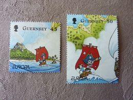 2010  Europa  Children's Books   SG = 1333 / 1334    MNH ** - Guernsey