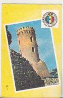 Romanian Small Calendar - 1982 - ACR Dambovita - Chindia Tower Targoviste - Calendars