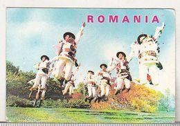 Romanian Small Calendar - 1985 - Folk Dance - Somes Valley - Petit Format : 1981-90