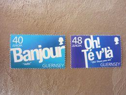 2008   Europa   SG = 1221/1222     MNH ** - Guernsey