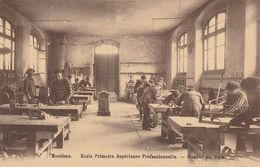 Moutiers (Savoie) - Ecole Primaire Supérieure Professionnelle / Atelier Du Bois - Moutiers