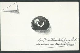 Buvard. Boulet De Charbon Le Croissant De Le Compagnie Des Mines De La Grand Combe (Gard); état Neuf - Löschblätter, Heftumschläge