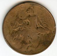 France 10 Centimes 1899 GAD 277 KM 843 - D. 10 Centimes