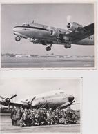 Sabena Carte Postale+photo. Brussels Airport - Aviation