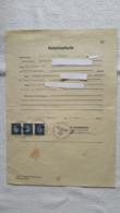 Geburtsurkunde Schreiben Urkunde Gebührenmarke 1941 - 1939-45