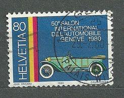 Switzerland, 1980 (#1167a), Automobilsalon, Geneve, Cars, Autos, Automobili, Voitures, Carros, Fahrzeuge, Vehicles - 1v - Automobili