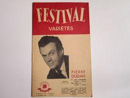 Pierre DUDAN - Disques FESTIVAL  - Les Derniers Disques Parus (12 Pages) - Musica & Strumenti