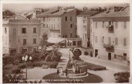 Loano - Giardini De Amices E Monumento Ai Caduti - Savona