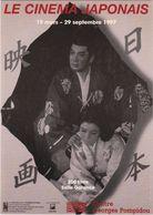 D2216 CARTE PUBLICITAIRE - LE CINÉMA JAPONAIS - 1997 - SALLE GARANCE / CENTRE GEORGES POMPIDOU - Cinema