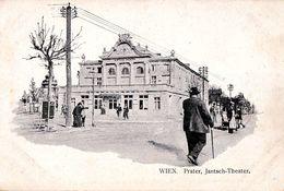 WIEN - PRATER : JANTSCH THEATER - CARTE POSTALE PRÉCURSEUR / FORERUNNER POSTCARD ~ 1900 (af076) - Prater