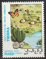 SAHARA OCCIDENTAL 1992 - Papillons - Farfalle