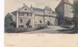 Annecy  Entrée Du Château - Annecy