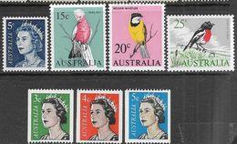 Australia  1966-7   7 Diff MNH  2016 Scott Value $12.05 - 1966-79 Elizabeth II