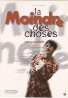 """D2220 CARTE AFFICHE - FILM """"LA MOINDRE DES CHOSES"""", DE NICOLAS PHILIBERT - GRAND PRIX DU PUBLIC - Affiches Sur Carte"""