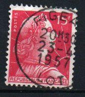 15F Marianne De Muller - N° 1011 Obl - Frankreich