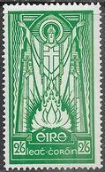 Ireland  1943    Sc#121  2sh6p  St Patrick   MNH   2016 Scott Value $7 - 1937-1949 Éire