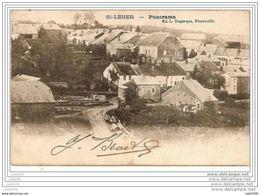 SAINT - LEGER ..-- Panorama . 1908 Vers ANVERS ( Mr Henri DE BRUYN ) . Voir Verso . - Saint-Léger