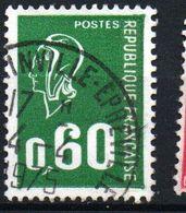 60c Marianne De Béquet Typo - N° 1814 Obl - Gebraucht