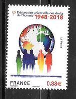 Année 2018 _    N° 5290**+5291** - Frankreich