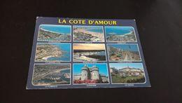 Carte Postale La Cote D Amour Ses Sites Touristiques En L'état Sur Les Photos - France
