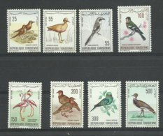 1965 Tunisie, P.A. 26/ 33 Neufs ** MNH  Cote 45€ Thème Oiseaux - Tunisia