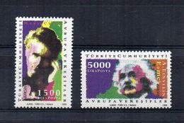 Turchia - 1994 - Europa CEPT - L' Europa E Le Scoperte - 2 Valori - Nuovi ** - (FDC22899) - 1994