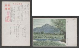 JAPAN WWII Military Zijin Shan Picture Postcard CENTRAL CHINA WW2 MANCHURIA CHINE MANDCHOUKOUO JAPON GIAPPONE - 1943-45 Shanghai & Nanjing