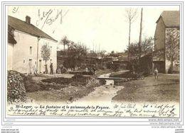 SAINT - LEGER ..-- Le Ruisseau De France . 1908 Vers BORGERHOUT ( Melle Marie POSENAER ) . Voir Verso . - Saint-Léger