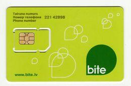 LATVIA Bite GSM SIM MINT - Lettonie