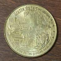 30 COURRY GROTTE DE LA COCALIÈRE N°1 MEDAILLE TOURISTIQUE MONNAIE DE PARIS 2006 JETON MEDALS COINS TOKENS - Monnaie De Paris