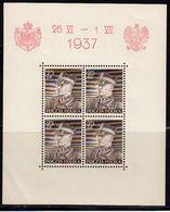 Pologne 1937 Yvert BF 2 ** Et BF 3 ** Neufs Sans Charnière. Visite Roi Carol De Roumanie. (2006t) - Blocks & Kleinbögen