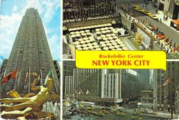 New York City - Rockefeller Center - Multivues - Multi-vues, Vues Panoramiques