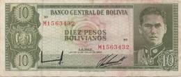 Bolivie : 10 Pesos Bolivianos 1962 - Bolivia