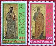 EUROPA CEPT 1998 Mi 1242-1243 Yv 1104-1105 POSTFRIS / MNH / ** VATICANO VATICAN VATICAAN - Vatican