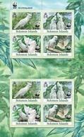 SOLOMON ISLANDS 2013 SHEET WWF CACATUA DUCORPSII WILDLIFE PARROTS PERROQUETS BIRDS OISEAUX Slm13101a - Islas Salomón (1978-...)